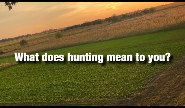 What deer hunting is all about! 2019 season promo