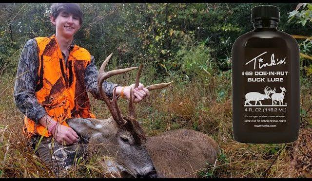Deer Hunting with TINKS 69 – Big Buck