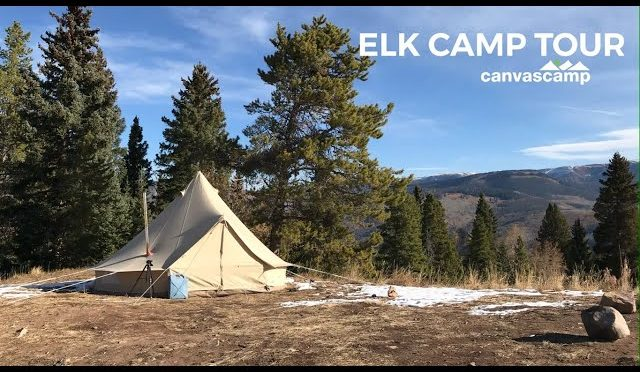 Elk Camp Tent Tour | Canvas Hunting Tent | CanvasCamp