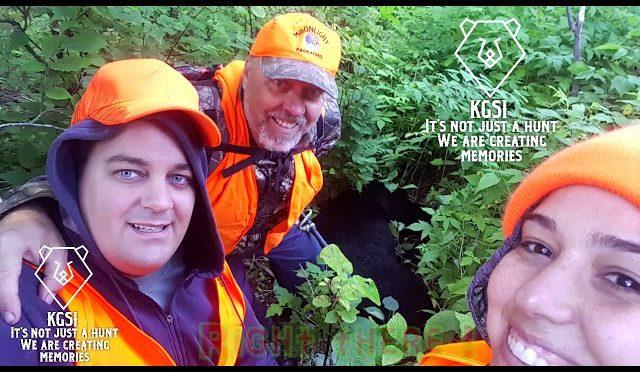 Black Bear Hunt Experience From the kill to the Feild Dressing