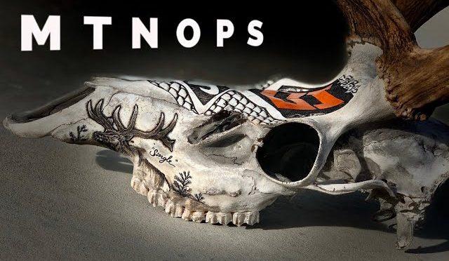 ELK HUNTERS! Tattoo engraving BONETATS on MTNOPS co-founder Jordan Harbertson's bull elk skull!