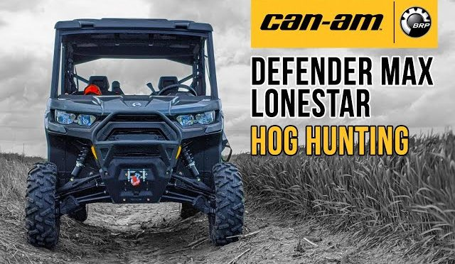 Hog Hunting in Luxury – first night out with the Can-Am Defender Max Lonestar