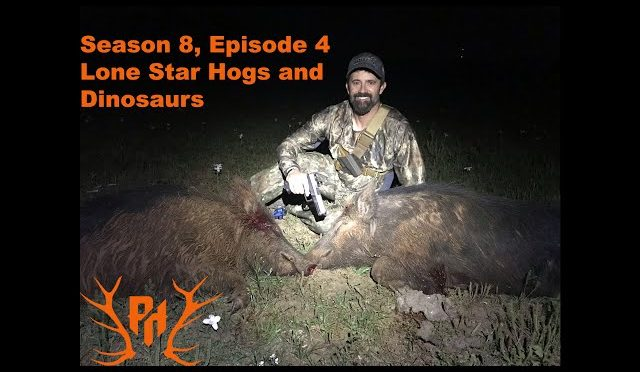 """Texas Thermal Hog Hunting  – S.8 Ep.4 """"Lone Star Hogs and Dinosaurs"""" Part 1"""